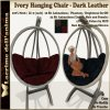 (PIC) Ivory Hanging Chair - Dark Leather 4 Colors.jpg