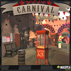 Gacha MadPea Pop Up Carneval