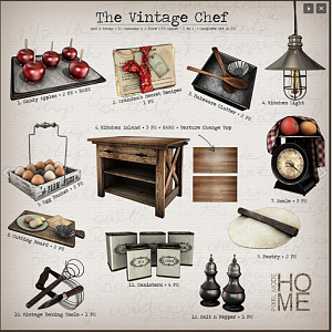 Pixel Mode  The Vintage Chef Sept 2018