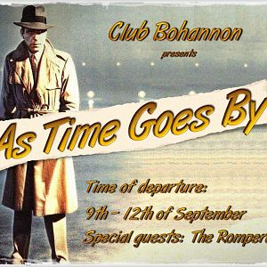 As Time Goes By Flyer